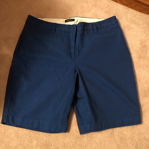 8d590efd6c0 Lands  End Pants - Lands End Womens Chino Mid Rise Flat Front Shorts